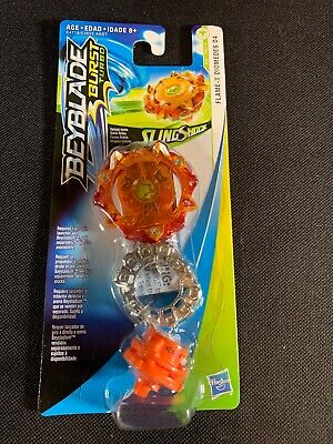 Hasbro Beyblade Burst Turbo SlingShock Single Top Pack Flame-X Diomedes D4 NIB
