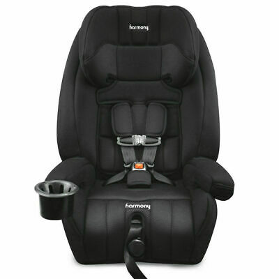 Harmony Defender 360° Convertible 3-in-1 Booster Car Seat - Midnight New!