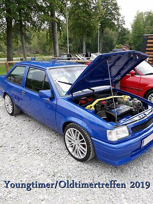 Opel Corsa A TR 2.0L DOHC 16 V C 2.0 XE Bj. 85 OHC CIH Tuning Risse Oldtimer