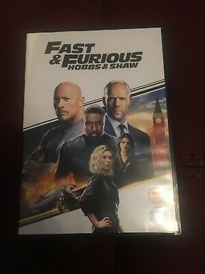 fast and furious hobbs and shaw DVD 2019