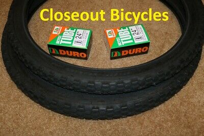NEW ORIGINAL BICYCLE DURO TIRE IN 26 X 2.10 BLACK//BLACK SIDE WALL HF-107A.