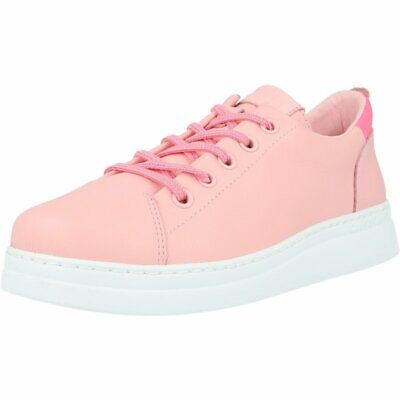 Camper Runner Light Pastel Pink Leather Child Sneakers Shoes