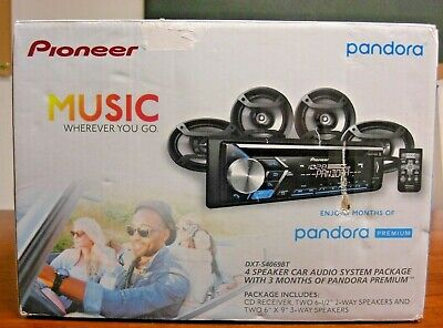 PIONEER Car Audio System (DXT-S4069BT), NEW IN OPEN BOX.