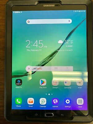 Samsung Galaxy Tab S2 T817A 32GB Wi-Fi + 4G LTE (AT&T) 9.7in Black Tablet RB