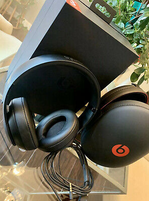 Nib Beats By Dre Studio 3 Wireless Bluetooth Headphones Matte Black
