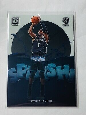 2019-20 Panini Donruss Optic NBA Splash Insert #8 Kyrie Irving Brooklyn Nets