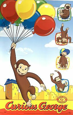 Curious George  Movie Poster 22 x 34