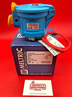 Meltric 63-64043-375-843 Receptacle / Connector DSN60 480Vac 20Hp 60A
