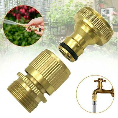 Multi-Function 3/4 Inch Hose Quick Coupling Connector Brass Material Home Tools