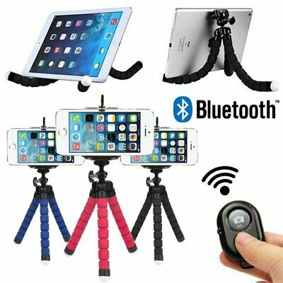 Flexible Bluetooth Selfie Stick Tripod Monopod Remote Shutter for iPhone Samsung