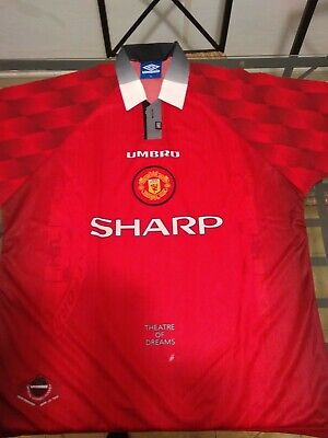 camiseta t-shirt manchester united umbro original official XL