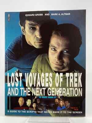 Lost Voyages of Star Trek and the Next Generation - A Guide / Boxtree 1995
