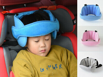 Kids Travel Car Seat Head Neck Rest Pillow Cushion Pad Head Rest Back Support