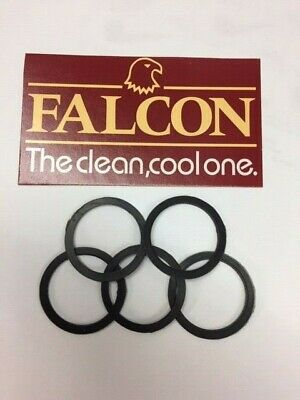 Brand new pack of five genuine replacement Falcon Pipe Bowl Seals