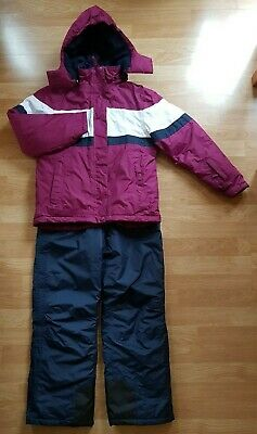 Girls Crane Snow Ski Suit Outfit Ski Jacket & Ski Trousers, Age 11-12