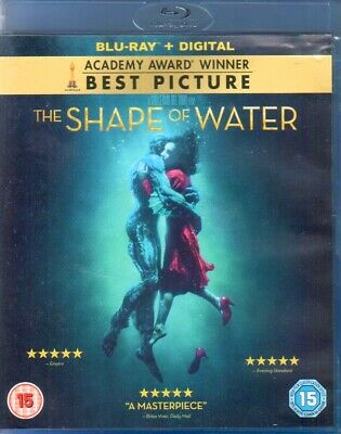 The Shape of Water - Blu-ray Disk (2017)