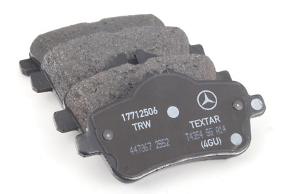 MERCEDES ML63 AMG W166 5.5 Brake Pads Set Rear 11 to 15 M157.982 A0064203320 New