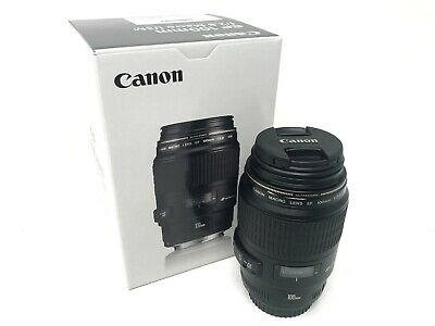 Canon EF 100mm f/2.8 Macro USM - 2 year warranty NEXT DAY DELIVERY