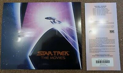 Star Trek The Movies phone cards set - set of 8 cards in folder