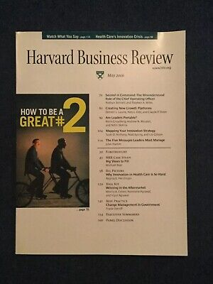 Harvard Business Review Magazine May 2006 Back Issue