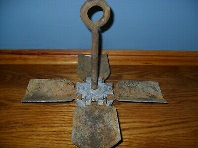 Vintage Small Folding Anchor