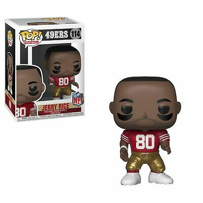Jerry Rice San Francisco 49Ers Funko Pop Vinyl Nfl Figure #114 New In Box