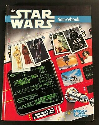 1987 West End Games STAR WARS Sourcebook Role Playing Games HC 1st Edition MINT