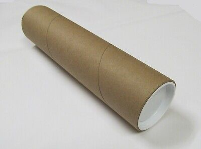 """2 (two) 12 1/2"""" x 3"""" Super Heavy Duty Mailing Tubes"""