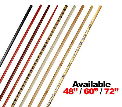 """Competition Toothpick Bo Staff Martial Arts Weapon with Dragon Light Karate 66/"""""""