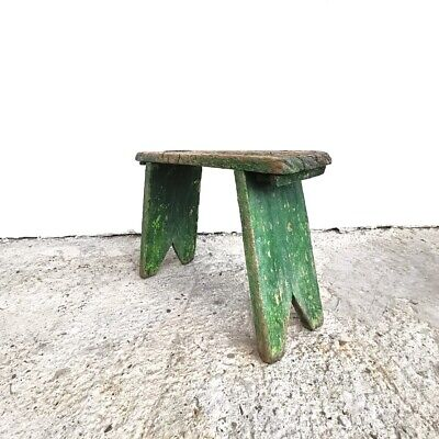 Antique milking stool from 19th Century