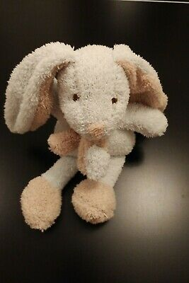 New Blue Bunny Rabbit With Scarf soft toy comforterTiny Treasures Card Factory