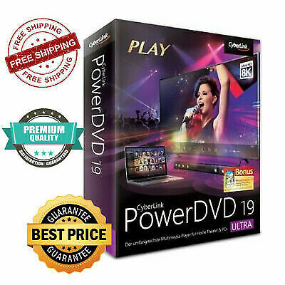 Cyberlink PowerDVD Ultra 19 Full Version Lifetime Fast Delivery️ ✅ Unlimited PC