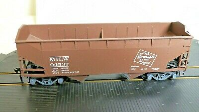 HO ATHEARN Milwaukee Road 34 Foot Open Top//Hopper #5406 New In Box Assembled