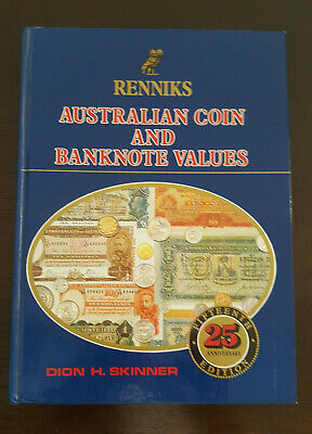 RENNIKS AUSTRALIAN COIN & BANKNOTE VALUES - 15th EDITION  -  HARDCOVER