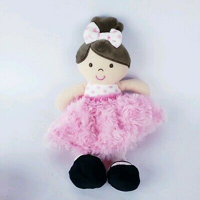 Okie Dokie Blond Ballerina Plush for Baby Toddlers
