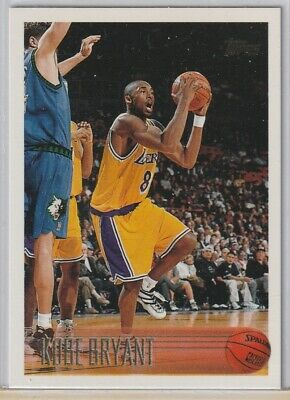 1996-1997 Kobe Bryant Topps Rookie RC Card #138 Sweet Card Lakers