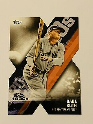 2020 Topps Series 1 Decade of Dominance Die Cut #DOD-1 Babe Ruth