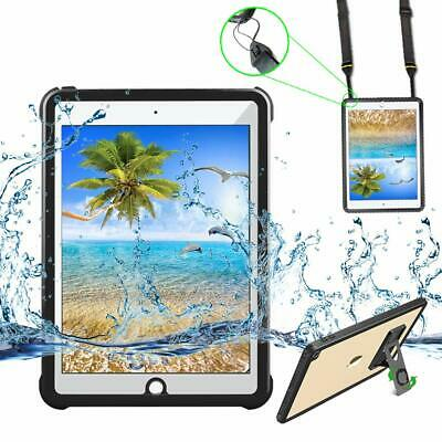 For iPad 6th Waterpoof Case Screen Protector iPad 5th Full Sealed Cover 9.7 INCH