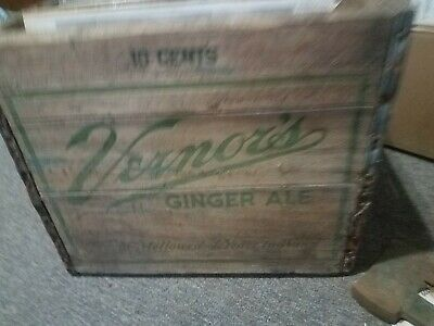Vernors 10c Ginger ale Crate
