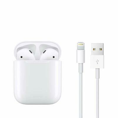 Apple AirPods with Charging Case - 2nd Generation - White.