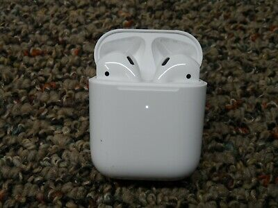 New Genuine Apple AirPods 2nd Generation with Wireless Charging Case