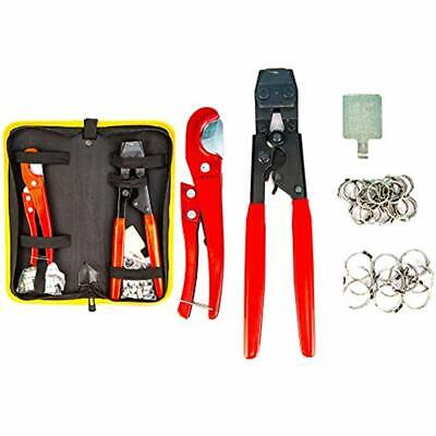 KOTTO Pipe Clamps Pex Crimping Cinch Tool And Hose Cutter Meets ASTM 2098, Kit