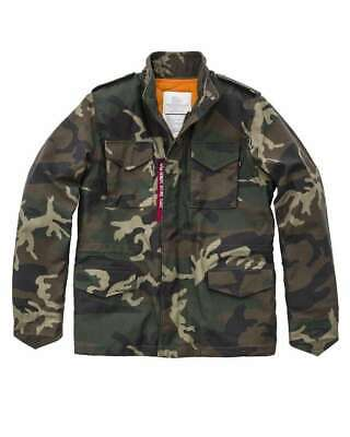 Alpha Industries Campo Giacca m-65 Heritage OLIVE