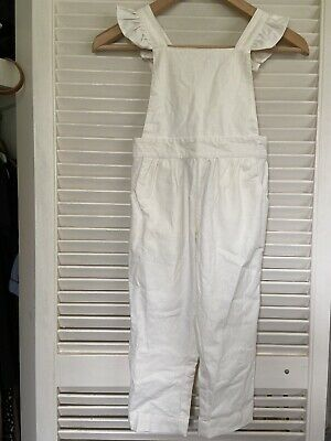 NWOT Daughter Co Dusk ruffle Overalls Size 5/6