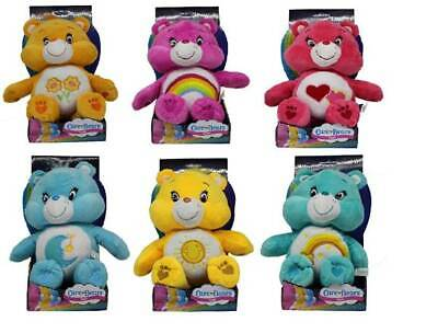 "Care Bear Super soft plush 12"" 30cm boxed toy Friendship Bear Collectables"