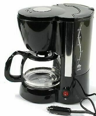 24v 300W COFFEE MACHINE make fresh coffee in your Truck HGV Bus Boat NEW 2 CUPS!