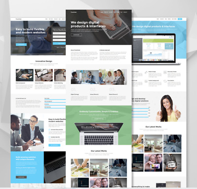 Unlimited websites landing page builder- Online Tool for 1 year
