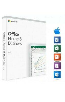Microsoft Office Home & Business 2019 - per MAC LIFETIME VERSION ( V.P)