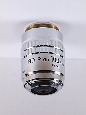 Nikon BD Plan 100x ELWD Long Working Distance 210 TL M26 Microscope Objective