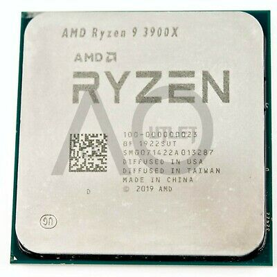 AMD Ryzen 9 3900X 3.8GHz Twelve Core AM4 CPU Processor New Free Special Delivery